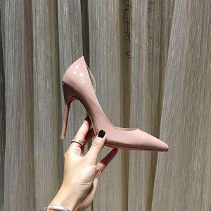 Women's Summer Fashion Pointy Stiletto High Heels Professional Banquet Wedding Single Shoes