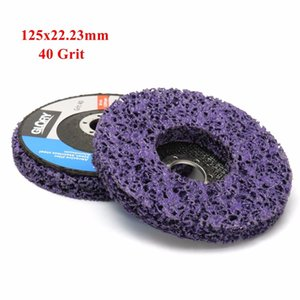 2pcs 125mm 5 Inch 40 Grit Grinding Disc Wheel for Angle Grinder