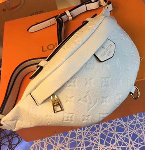 Le donne di vendita borse della signora Vita Borse Borse unisex MARSUPIO petto della traversa del sacchetto della vita del corpo Borse Vera pelle borse a tracolla borsa da viaggio 37 * 14 * 13cm