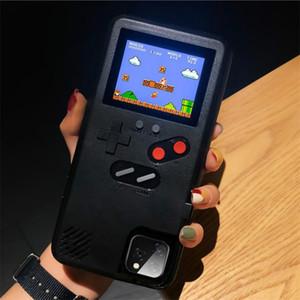 copertura della cassa del telefono SUP Handheld Console da gioco TPU Silicagel 36 Classic gioco giocatore ricaricabile per iphone11 pro max 6 7 8 più X XR XS Max