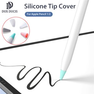 10pcs / Lot DUX Ducis Silikon-Spitzenabdeckung Nib Schutzhülle für Apple Bleistift 1. 2. Touchscreen-Stift Fall Bleistift-Spitze-Abdeckung