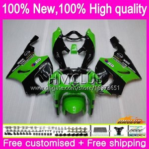 Kit For KAWASAKI ZX750 ZX 750 7R 7 R 96 97 98 99 00 01 02 03 AAHM.17 ZX-7R ZX7R 1996 1997 1998 1999 2000 2001 2002 2003 Green black Fairing