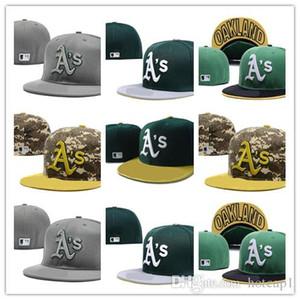 Nuovo sport di alta qualità Oakland Cap Team Basketball Snapback regolabile da baseball cappello da baseball berretti donna uomo aderente cappello accetta sh libero