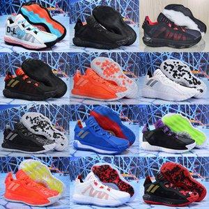 Новый Лиллард VI Dame 6 All Star Баскетбол обувь мужская обувь высокого качества Безжалостные Спортивные кроссовки Кроссовки Размер 40-46
