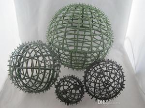 New kissing Ball plactic Ball Rahmendurchmesser von 20cm 30cm 15cm 8cm 5cm guter diy Blumenkugel Party-Event Dekoration