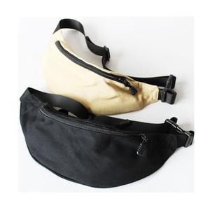 Homens Hiphop Skate cintura Bag Moda Outdoor Ciclismo Viagem tórax sacos de lona Multi-função feminina carteira saco de armazenamento