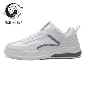 2020 Summer New Style Trendy Shoes Sports Footwear Breathable Korean Shoes All-match White Men and Women Autumn