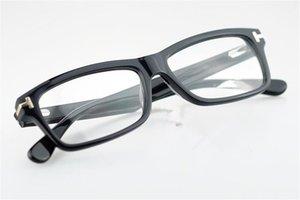 Ford Hombres óptico marco de los vidrios Tom diseñador 5046 Marca del marco del tablón de Big marcos de las lentes de las mujeres retro miopía marcos de las lentes con el caso