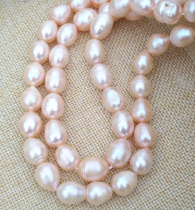 2019 NEWPictures real photos ÉNORME CHARMANT 11-15MM SUD SEA gold OR PINK BAROQUE PEARL NECKLACE Pretty design