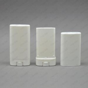 Vente chaude emballages vides Déodorant ovale en plastique Baume à lèvres Tubes avec embout pour couvercle 15ML Rouge à lèvres, crayon, baume à lèvres, maison Baume à lèvres, sans BPA