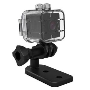 50PCS SQ12 Mini-Kamera-Sensor Nachtsicht Recorder-Bewegungs-DVR HD 1080P Mikrokamera wasserdicht Shell Sport Video Kleine Kamera