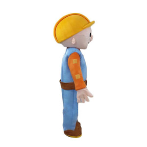 2019 High quality Bob the Builder mascot costume adult size free shipping