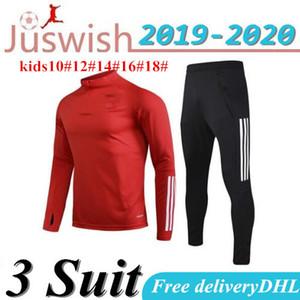 2020 Wales terno treinamento taça europeia 20 21 Wales jaqueta de futebol treino Correndo adulto manga longa Uniform Set Welsh caçoa o futebol shirt
