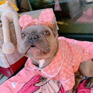 개 옷 개 재킷 프랑스 애완 동물 제품 코트에 대한 작은 중간 개의 럭셔리는 옷 핑크 자켓