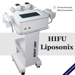 liposonic 슬리밍 liposonix 얼굴 HIFU 치료 리프팅 2 IN 1 주름 카트리지 HIFU 치료 기계 초음파 피부