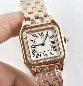 2 стиль золото и розовое золото последняя версия высокое качество японский кварцевый механизм 22 мм 27 мм безель с бриллиантами красивая женщина watche