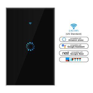 US / AU padrão interruptor WiFi toque tuya aplicativo Smart Switch wi-fi