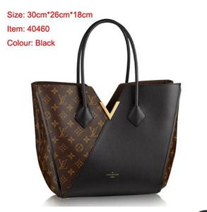 Clássico de alta qualidade mulheres couro quimono bolsas de ombro sacos de compras frete grátis sacola bolsa