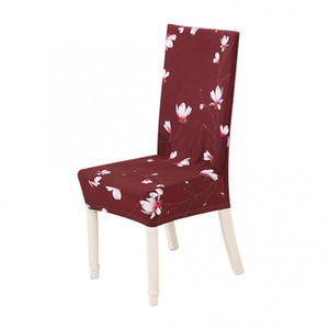 cover chair Polyester Print Elastic Chair Cover Removable Protective Covers for Home Wedding Hotel covers for chairs New