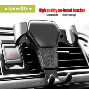 Universal Car Phone Holder Air Vent Mount Stand For Phone In Car No Magnetic Mobile Phone Stand Holder with retail package
