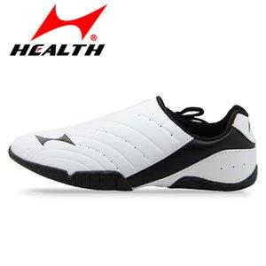 Santé taekwondo chaussures hommes et femmes adultes chaussures d'arts martiaux été formation résistant à l'usure respirant taekwondo 35-44