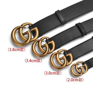Hot new Alta calidad cinturones de diseño para hombre para mujer L hebillas Jeans cinturones Cinturones Cummerbund Para hombres Mujeres Hebilla de Metal