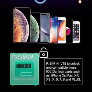 R-SIM 14 V18 R sim14 V18 RSIM14 V18 R SIM 14 RSIM 14 unlock iphone xs max IOS12.X iccid unlocking sim Unlock card R-SIM14