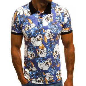 9 Colors Mens Polo Shirt Summer Short Sleeve Polo Shirt Men Brand Clothing Men's Tee Shirt Tops&Tees