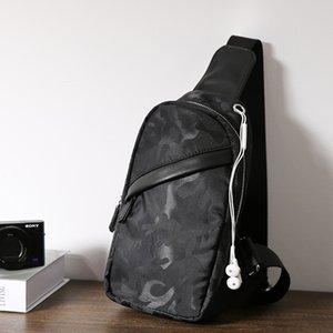 Fashion New Camouflage Brusttasche Männer koreanische Version kleine Tasche Oxford Einzelschulter Canvas Recreational Slant