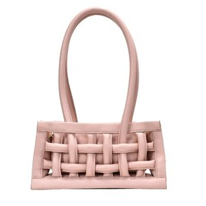Waffle PU Leather Shoulder Bags for Women New Small Female Handbags Solid Candy Color Flap Bag Casual Ladies' Travel Tote Bags