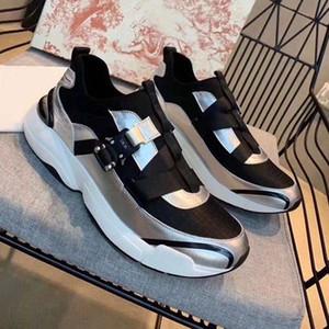 Estilo de alta gama de deportes de fondo planos de la manera de las mujeres calzados informales de lujo Carta 2020New marca de diseñador de zapatos de marca zapatillas de deporte al aire libre Plataforma