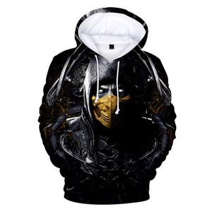Das Spiel Mortal Kombat 11 Element 3D-Drucken Mann Hoodies Mode Frau Hooies Paar passender Kleidung