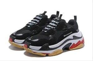 Paris Triple-S Designer Luxury Shoes Low Top Sneakers Triple S Men's and Women's Casual Shoes Outdoor Sports Trainers Shoes size 36-45