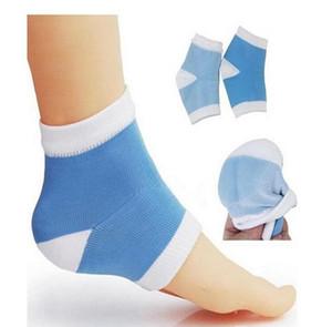 Silicone Pé Tratamento Gel calcanhar Socks Moisturing Spa Gel Socks pés cuidar Rachado pé seco duro Protector Pele ST249