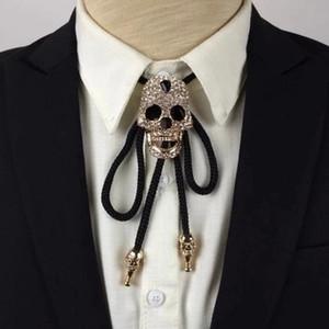 I-remiel Kolye скелет мужчины кулон ошейники хризоколла новое поступление бросился мода взрослых аксессуары ожерелье череп