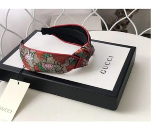 Femmes Marque Silk Bandeaux meilleure qualité Marque fraise design Bandeaux foulard pour les femmes tête fille headwraps Cadeaux ipp
