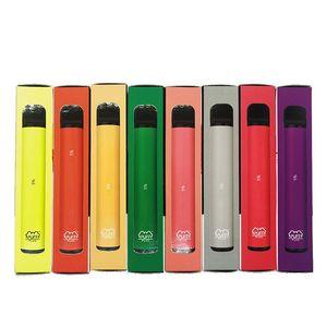 Newest Puff Plus 800+Puff Disposable Pod Cartridge 550mAh Battery 3.2mL Pre-Filled Vape Pods Stick Style E-Cigarettes Kits