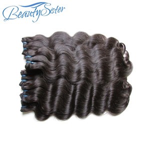Belleysister Brasilian Virgin Remy Human Hair Bundles Teje 5bundles Lot Cutícula Alineada Las extensiones de cabello virgen tejen color natural