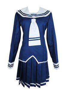 Meyve Sepeti Honda Tooru Mavi Okul Üniforma Kıyafet Elbise Cosplay Kostüm