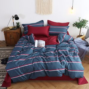 Tasarımcı yatak nevresim takımları Yatak Tekstil Polyester Yatak Makine Yıkanabilir ayarlar Nevresim Seti King Size yazdır 3D
