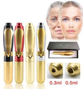 Hyaluron Pen Mesotherapy Gun 0.3&0.5 Hyaluron Gun for Anti Wrinkle Lip Lifting Loss Weight Lip Injection Non Needle Atomizer Gun Tips