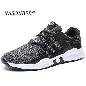 Erkekler Sert Sneakers giyerek NASONBERG Nefes Erkekler Günlük Ayakkabılar Anti-Koku Yüksekliği Artırma Ayakkabı Abzorban Erkekler Ayakkabı S200409 Sweat