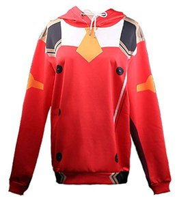 Darling in The FRANXX Zero Two Hoodies Pullover Cosplay Costume