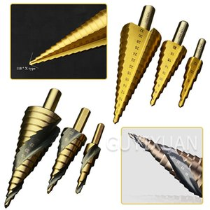 Step Reaming Pagoda Drill Multifunctional cone Punch drilling stainless steel metal wood board hole opener