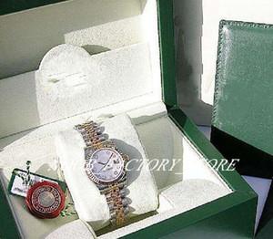 NEU-Fabrik-Verkäufe 2813 Automatik-Uhrwerk 179.173 LADIES SS / 18K Gelbgold Weiß MOP DIAMOND 31MM Datejust mit Original-Box