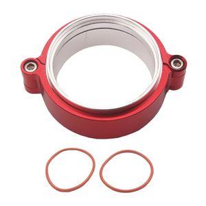 2,5 « » pouces en acier inoxydable universelle V-bande de serrage Bride Kit pour Turbo échappement Descentes