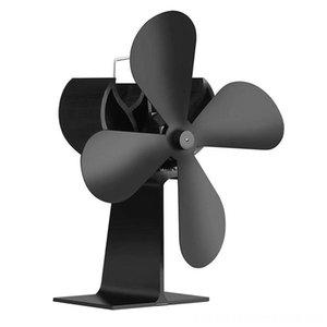 Fan de Outros acessórios de acessórios do jogo do fogão e alimentação Wood Heat Fan para fogão a lenha e Chaminés nenhum ruído Desenvolvido pela Black Calor