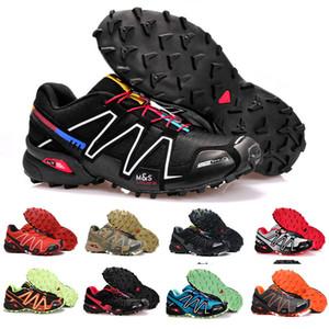 salomon speedcross 3 2018 الجديدة Zapatillas Speedcross 3 أحذية رجالية عادية سرعة عبور المشي الرياضة في الهواء الطلق المشي لمسافات طويلة أحذية رياضية الحجم 40-46 EA7080
