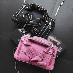 Designer Women Messenger Bags Mini Black Jacket Bag Handbags Pink Shoulder Bag Crossbody Bags Sac A Main Femme De Marque