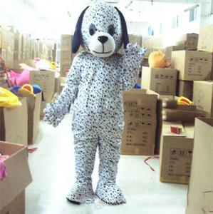 Dimensioni 2020 Sconto fabbrica vendita Dalmata del costume della mascotte dei cartoni animati Costume Party Dress commerciale di alimentazione per adulti